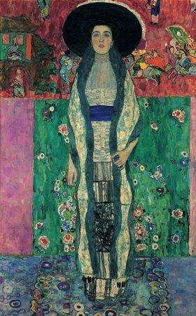 Gustav Klimt: Bildnis Adele Bloch-Bauer II. 190 x 120 cm. Öl/Lwd