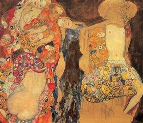 Gustav Klimt: Die Braut, Öl auf Leinwand