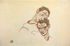 Egon Schiele: Doppelselbstbildnis