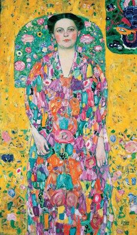 Gustav Klimt: Bildnis Eugenia Primavesi. Öl auf Leinwand