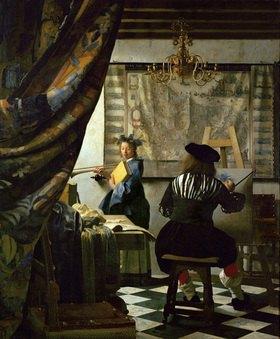 Delft Jan Vermeer van: Der Maler und sein Modell als Klio