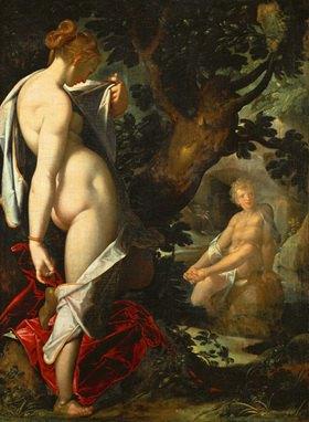 Bartholomäus Spranger: Hermaphrodit und die Nymphe Salamacis