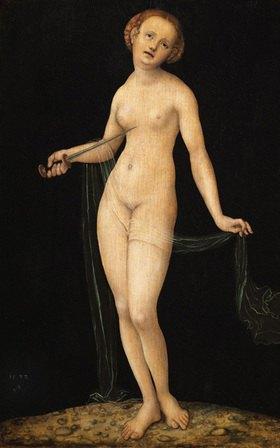 Lucas Cranach d.Ä.: Lucretia, Frau desTarquinius Collatinus