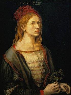 Albrecht Dürer: Albrecht Dürer, Selbstportrait