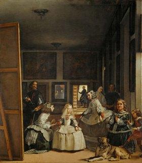 Diego Rodriguez de Velazquez: Las Meninas - Die Brautjungfern