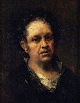 Francisco José de Goya: Goya y Lucientes, Selbstportrait. Gemälde