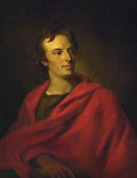 Johann Fr. August Tischbein: Friedrich Schiller 1805. Museum der Bildenden Künste, Leipzig, Deutschland