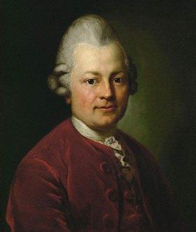 Anton Graff: Gotthold Ephraim Lessing 1771. Museum der Bildenden Kuenste, Leipzig