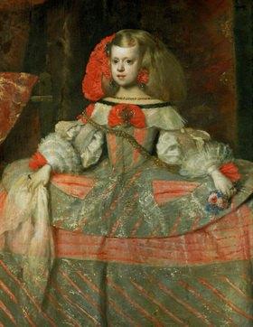 Diego Rodriguez de Velazquez: Infantin Margarita Teresa. Gemälde