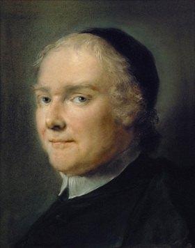 Carriera Rosalba: Der Dichter Abbe Pietro Metastasio (1698-1782), Hofpoet bei Kaiser Karl VI. 1730. 32 x 25,5 cm