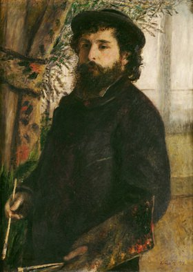 Claude Monet: Claude Monet, Selbstportrait 1875.