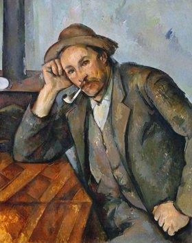 Der Pfeifenraucher. Gemälde. 1895-2000