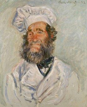 Claude Monet: Il Cuoco-Der Koch