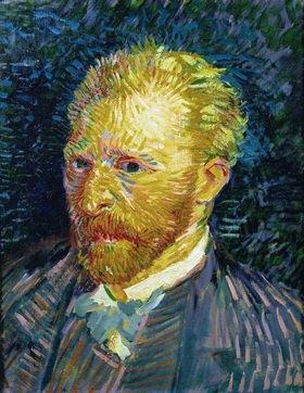 Vincent van Gogh: Vicent Van Gogh, Selbstportrait, 1887 35 x 44 cm