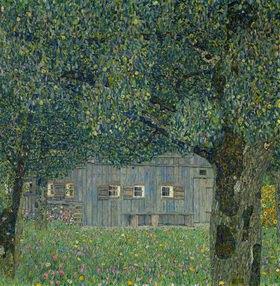 Gustav Klimt: Oberösterreichisches Landhaus 1914, 110 x 110 cm