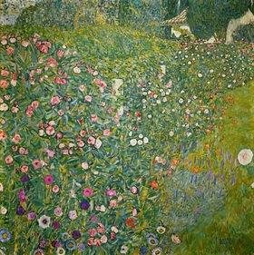Gustav Klimt: Italienische Gartenlandschaft