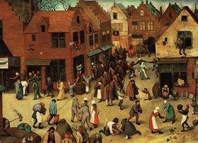 Der Kampf zwischen Karneval und Fastenzeit, Detail