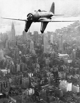 Flug Australien / New York, Photographie um 1930
