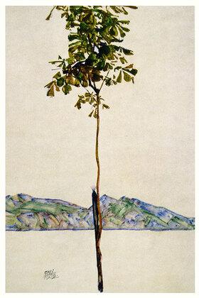 Egon Schiele: Bäumchen (Kastanienbaum am Bodensee)