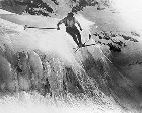 Skifahren für Mutige, Photographie
