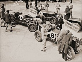 International Trophy Jubilee Race. Brooklands, England. Photographie