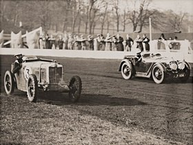 Automobilrennen des Speedway Racing Driver's Club. England. Photographie