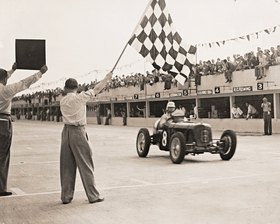 International Trophy Race. Brooklands, England. Photographie
