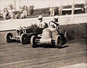 Midget Car Speedway Meeting. Lea Bridge