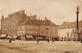 Stadtansicht von Wiener Neustadt. Niederösterreich. Österreich. Photographie