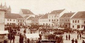 Stadtansicht von Eggenburg. Niederösterreich. Österreich. Photographie