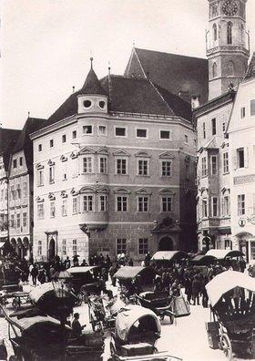 Stadtplatz in Steyr, Oberösterreich, Österreich. Photographie