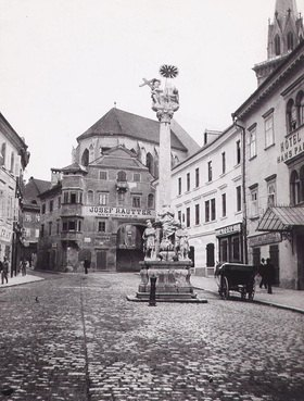 Stadtplatz in Villach, Kärnten, Österreich. Photographie