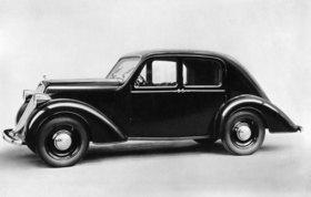 Automobil von Steyr-Daimler-Puch. Photographie