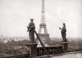Eiffelturm. Photographie. Paris