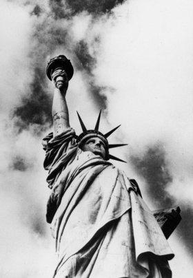 Die Freiheitsstatue in New York. Amerika. Photographie