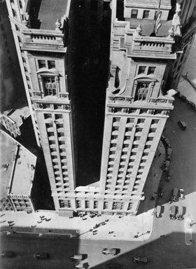 Das London Guaranty Building am Wacker Drive. Chicago. Photographie