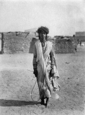 Ein junger Beduine aus Palästina, Photographie