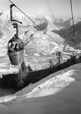 Seilbahn in Bad Ischl. Fotografie