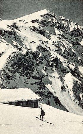 Blick auf die Oberkaseralm in Kitzbühel