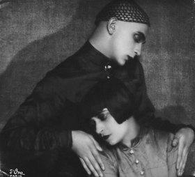 Madame d' Ora: Der Tänzer Harald Kreutzberg und seine Partnerin Yvonne Georgi. Paris