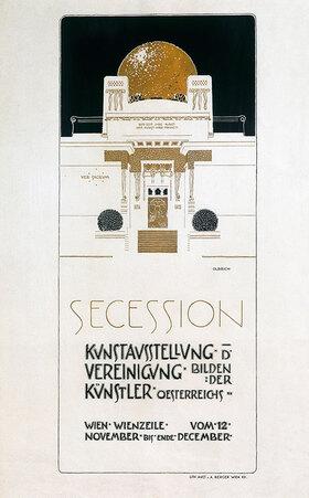 Joseph Maria Olbrich: 2. Sezession Ausstellung