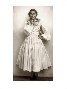 """Franz Xaver Setzer: Grete Wiesenthal in """"Argentinischer Tango"""""""