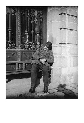 Emil Mayer: Siesta eines Fiakerkutschers, Wien