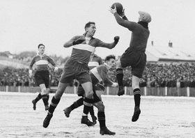 Fussballspiel Rapid gegen Sportklub (6:1)