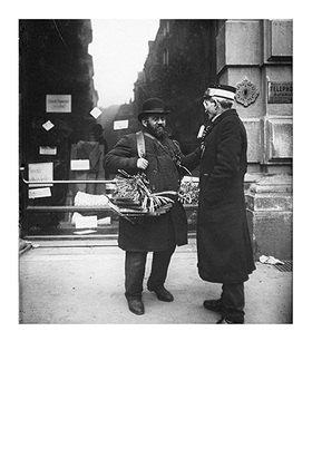 Emil Mayer: Ein jüdischer Hausierer und ein Dienstmann