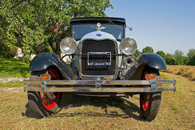 Ford Modell A Tudor, Baujahr
