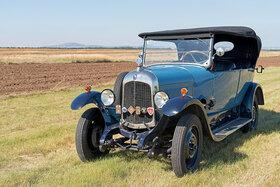 Citroen B10, Torpedo Commerciale, Baujahr 1925. 4-Zylinder Reihenmotor, Hubraum 1470 ccm, 20 PS, Ganzstahlkarosserie