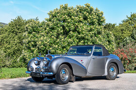 Triumph Roadster 1800, Baujahr 1948, 4 Zylinder, Hubraum 1776 ccm, 65 PS
