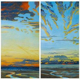Lothar Simhart: Der Morgen, Diptichon