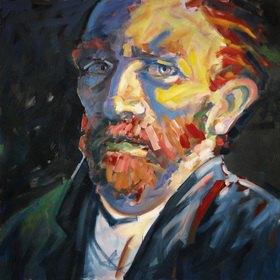 Lothar Simhart: Portrait Vincent van Gogh